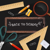 Back to school. vector illustration. Stock Photos