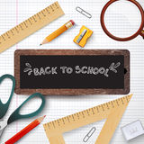 Back to school. vector illustration. Royalty Free Stock Photos