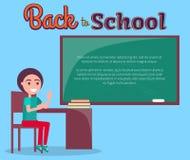 Back to School Vector Illustration with Schoolboy Stock Photos