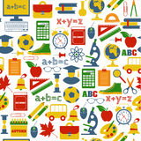 Back to school! Vector Illustration. Stock Photos