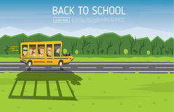 Back to School. Vector Illustration. Stock Photography