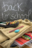 Back to school vertical Stock Image