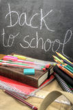 Back to school vertical Royalty Free Stock Photo