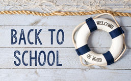 Back to School - welcome on board Stock Images