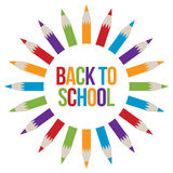 Back to School welcome Royalty Free Stock Images
