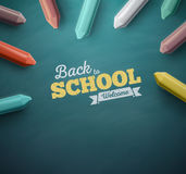 Back to School. Welcome back to school, eps 10 Stock Images