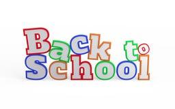Back to School Word Stock Photos