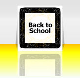 Back to school word, education Royalty Free Stock Images