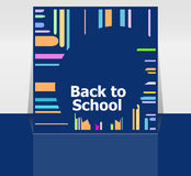 Back to school word, education Royalty Free Stock Photos