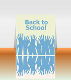 Back to school word, education Royalty Free Stock Image