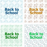 Back to school word, education theme Royalty Free Stock Photography