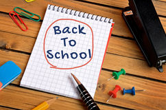 Back to school word Stock Photos