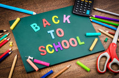 Back to school word. Stock Photos