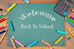 Back to school word. Royalty Free Stock Images