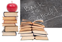 Back to School written Royalty Free Stock Photography