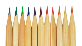 Back to scool - Pencils detail Royalty Free Stock Photography