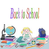 Back to scool Stock Photo