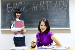 Back to study Stock Image