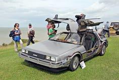 Free Back To The Future Delorean Car Stock Image - 26810091