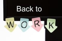 Back To Work stock photos