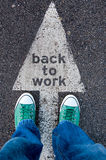 Back to work Royalty Free Stock Images