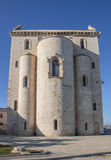 Back of the Trani cathedral against a blue sky Royalty Free Stock Images