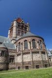The Back of Trinity Church. The historic Trinity Church at Copley square in Boston Massachusetts Royalty Free Stock Photo