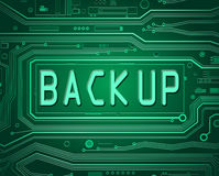 Back Up concept. Royalty Free Stock Photo