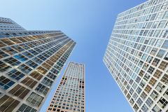 Back-up Photo of CBD Building Complex in Beijing, China stock photos
