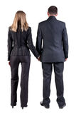 Back view of  business team Royalty Free Stock Photography