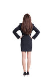 Back view of business woman Stock Photography