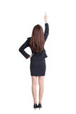 Back view of business woman Royalty Free Stock Image