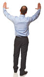 Back view of businessman Stock Photos