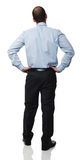Back view of businessman Stock Images