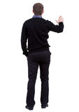 Back view of businessman Royalty Free Stock Photo