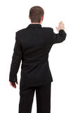 Back view of businessman . Stock Photo