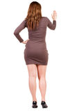 Back view of Businesswoman . Royalty Free Stock Photo