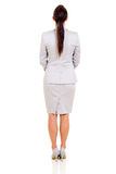 Back view businesswoman Stock Image