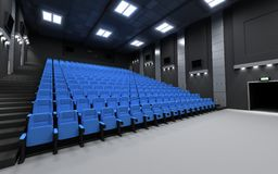 Back view cinema Royalty Free Stock Photography