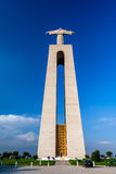 Back view of the Cristo-Rei Sanctuary in Almada Stock Photos