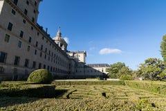Back view of Escorial Monastery Stock Photos