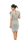 Back view of female royalty free stock photo