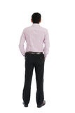 Back view of indian business male. Photo Royalty Free Stock Photos