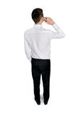 Back view of man Royalty Free Stock Photo