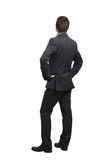 Back view of man in formal wear Stock Photography