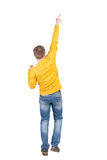 Back view of  man. Royalty Free Stock Photography