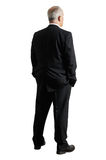 Back view of mature businessman Royalty Free Stock Photo