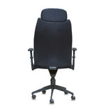 Back view of modern office chair Stock Images