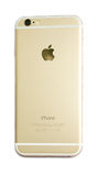 Back view of New Apple iPhone 6 isolated Stock Image