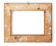 Back View Of A Picture Frame Royalty Free Stock Photos